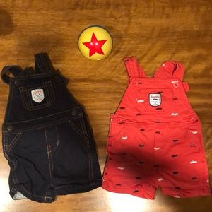 9 month overalls by carter bundle